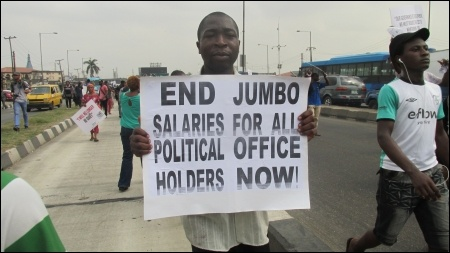 End Jumbo Salaries for Political Office Holders! - photo DSM