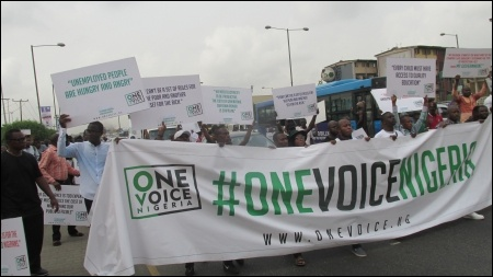 One Voice Nigeria - photo DSM
