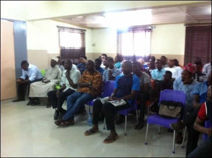 Cross section of participants at the Symposium - photo DSM