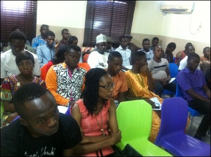 Cross section of participants at DSM NC meeting - photo DSM