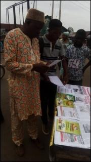 Tabling in Ile-Ife, Osun state - photo DSM