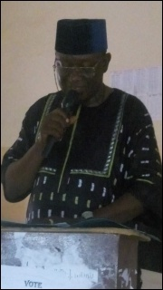 Pita Kola, former ASUP Bida Poly Chair - photo DSM