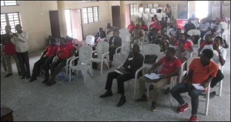 Section of the symposium's participants - photo DSM