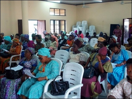 Cross section of teachers at the NUT AJIF, Lagos, symposium - photo DSM