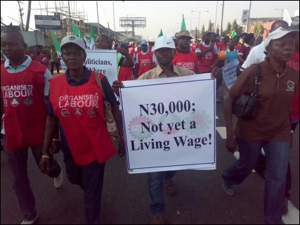 N30,000: Not yet a living wage - photo DSM
